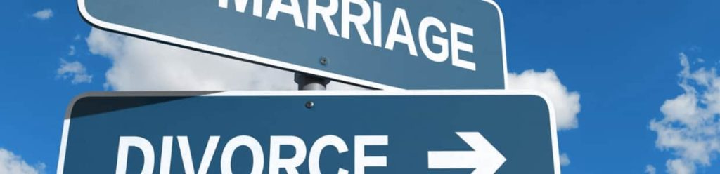 divorce and marriage signposts